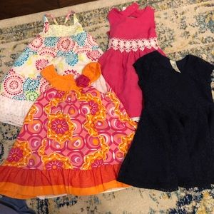 2T warm-weather dress bundle